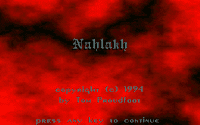 Video Game: Nahlakh