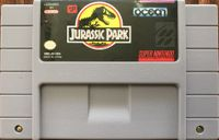 Video Game: Jurassic Park (SNES)