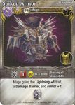 Board Game: Mage Wars: Spiked Armor Promo Card