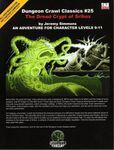 RPG Item: DCC #025: The Dread Crypt of Srihoz
