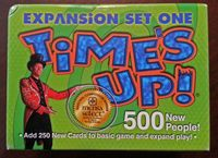 Board Game: Time's Up! Expansion set #1
