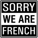 Board Game Publisher: Sorry We Are French