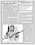 RPG Item: Complete Characters #07: Sir Aric Devilkin (d20)