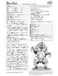 RPG Item: Bizarre Beasties #3: Behemet
