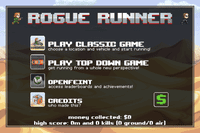 Video Game: Rogue Runner