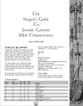 RPG Item: The Slayer's Guide to Female Gamers Web Enhancement