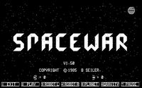 Video Game: Spacewar!