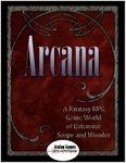 RPG Item: Arcana Core Book