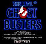 Video Game: The Real Ghostbusters
