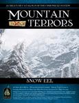 RPG Item: Mountain Terrors: Snow Eel