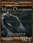 RPG Item: Mini-Dungeon Collection 025: The Choker Lair (Pathfinder)