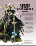 RPG Item: A Dozen Forest Encounters