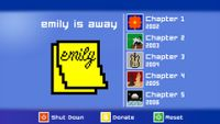 Video Game: Emily is Away