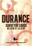 RPG Item: Durance Surveyor Cards