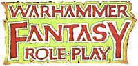 RPG: Warhammer Fantasy Roleplay (1st Edition)