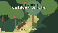 Video Game: Ollie and Bollie's Outdoor Estate