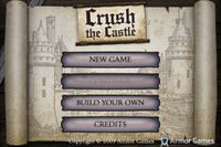 Video Game: Crush the Castle