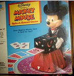 Board Game: Mickey Mouse Spin-A-Round