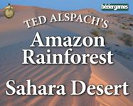 Board Game: Age of Steam Expansion: Amazon Rainforest & Sahara Desert