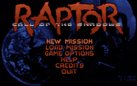 Video Game: Raptor: Call of the Shadows