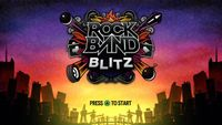 Video Game: Rock Band Blitz