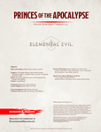 RPG Item: Princes of the Apocalypse Online Supplement