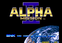 Video Game: Alpha Mission II