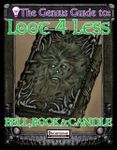 RPG Item: The Genius Guide to Loot 4 Less: Volume 9: Bell, Book, and Candle