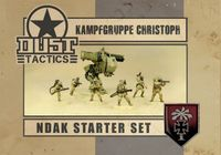 Board Game: Dust Tactics: Kampfgruppe Christoph
