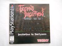 Video Game: Tecmo's Deception: Invitation to Darkness