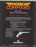 RPG Item: Wild West Weapon Data Supplement