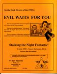 RPG Item: Bureau 13: Stalking the Night Fantastic (3rd Edition)