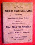 Board Game: The Modern Orchestra Game
