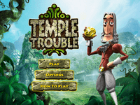 Video Game: Temple Trouble