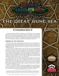 RPG Item: Land of Fire Realm Guide #09: The Great Dune Sea