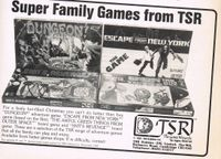 Board Game Publisher: TSR