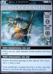 "Board Game: Pathfinder Adventure Card Game: Skull & Shackles – ""Magpie Princess"" Promo Card"