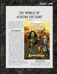 RPG Item: The World of Athena Voltaire
