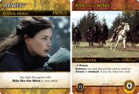 Board Game: The Lord of the Rings: The Fellowship of the Ring Deck-Building Game – Arwen Promos