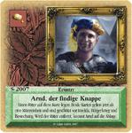 Board Game: Die Siedler von Catan: Das Kartenspiel – Sonderkarte 2007 – Arnd, der findige Knappe