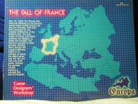Board Game: The Fall of France