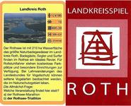 Board Game: Landkreisspiel Roth