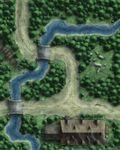 RPG Item: GameMastery Flip-Mat: Forest Path