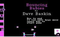 Video Game: Bouncing Babies