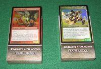Board Game: Magic: The Gathering – Duel Decks: Knights vs. Dragons