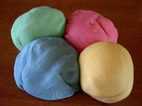 Family: Play Dough/Clay Games