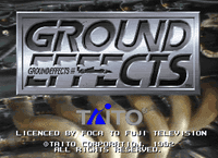 Video Game: Ground Effects