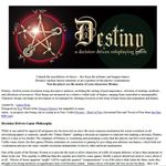 RPG Item: Destiny - A Decision Driven Roleplaying Game
