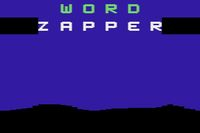 Video Game: Word Zapper (1982)