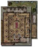 RPG Item: GameMastery Flip-Mat: Urban Tavern